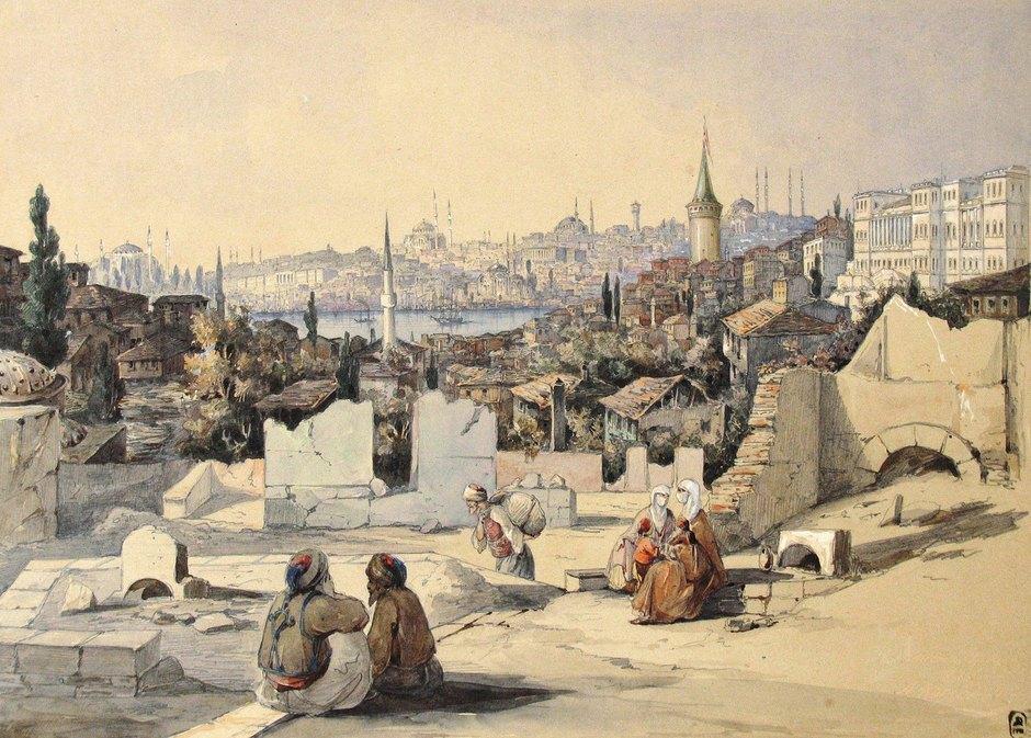 «Константинополь», А. Корсаков. 1848, изсобрания Государственного Русского Музея