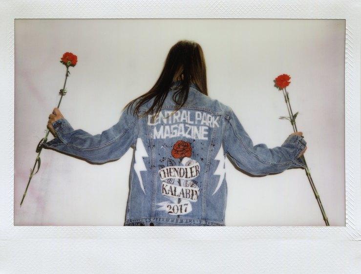 Кастомизированная куртка Trucker Jacket отLevi's (на вечеринке бренда вБерлине)
