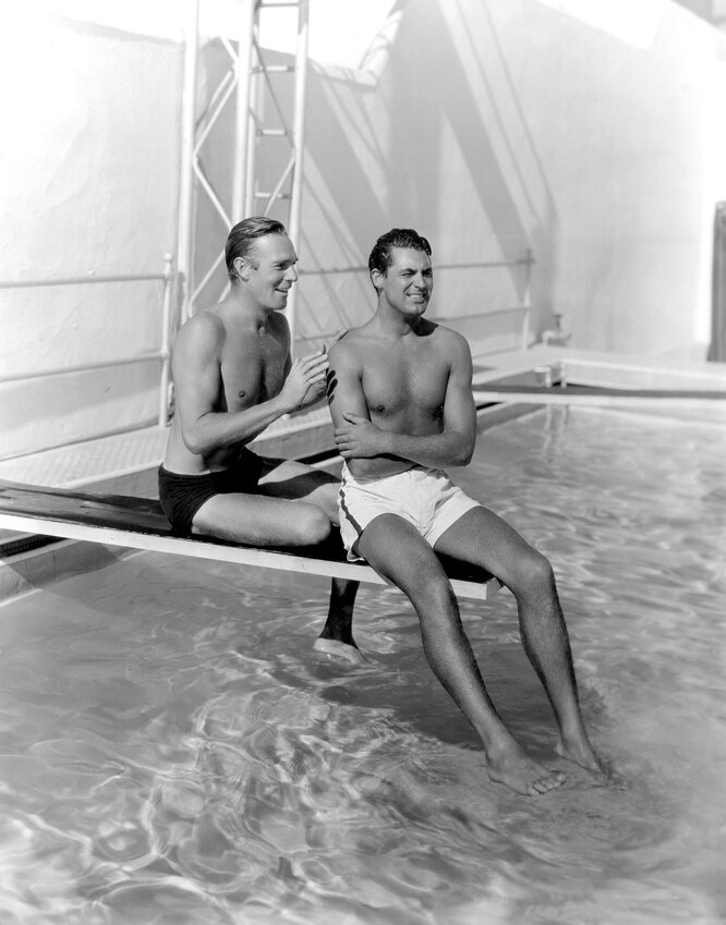 Кэри Грант и Рэндольф Скотт, 1935