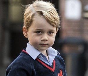 Внезапно: принц Джордж представляется другим именем