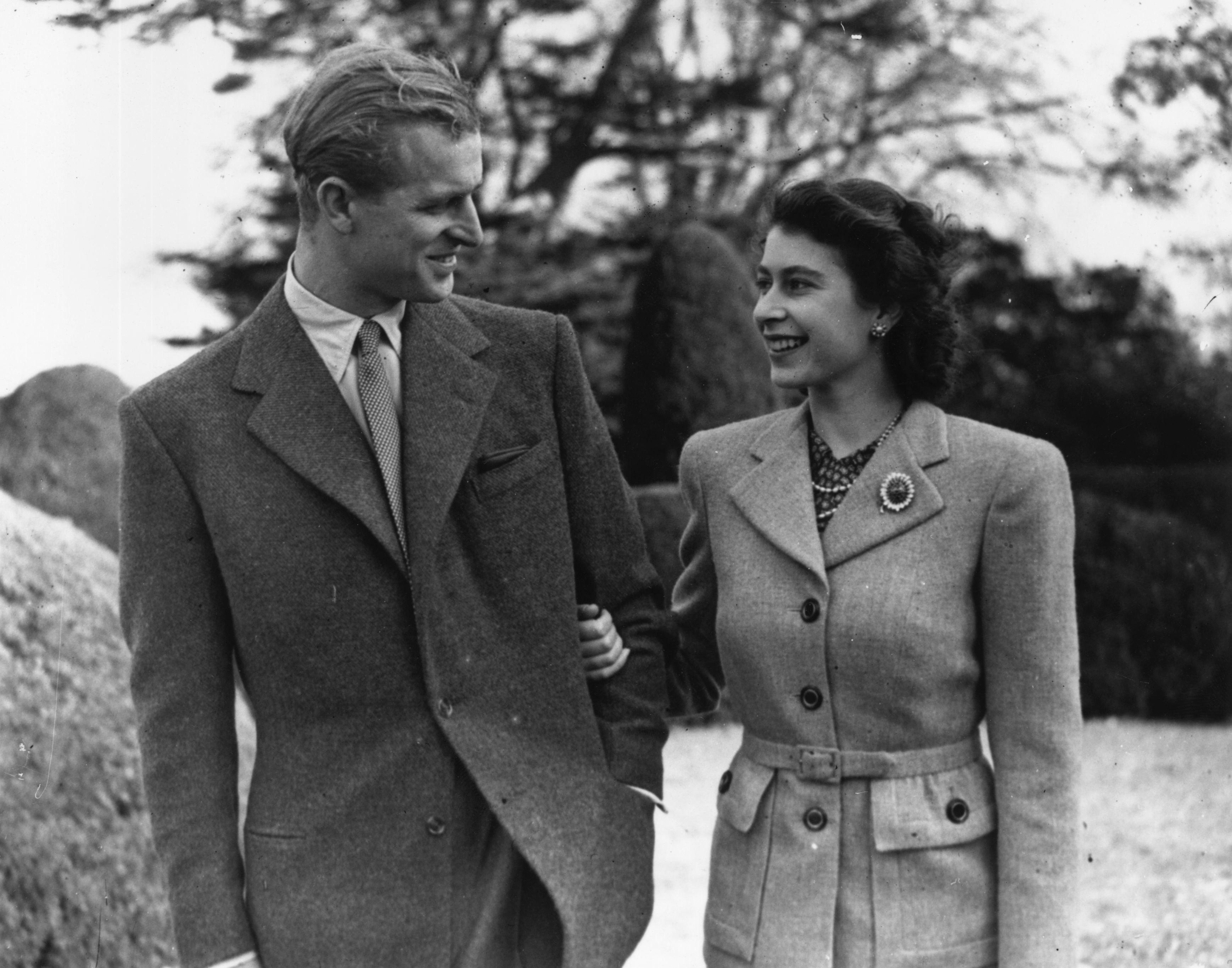 Королева Елизавета II ипринц Филипп, 1947
