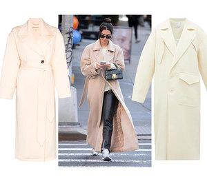 Идеально для весны: 5 разновидностей светлых пальто, с которыми не расстаются звездные модницы