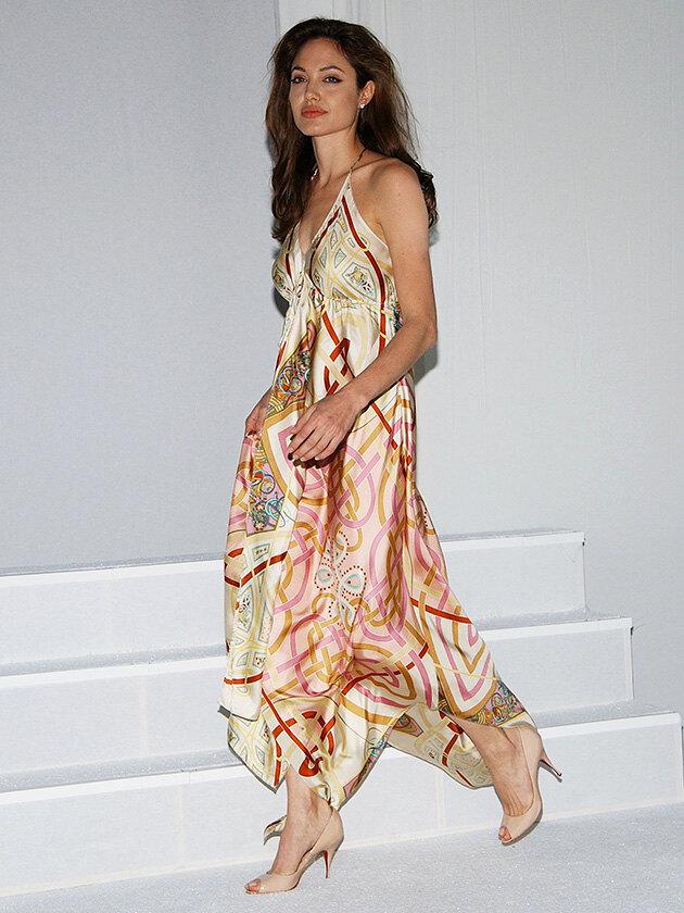 анджелина джоли фото 2005 стиль одежды