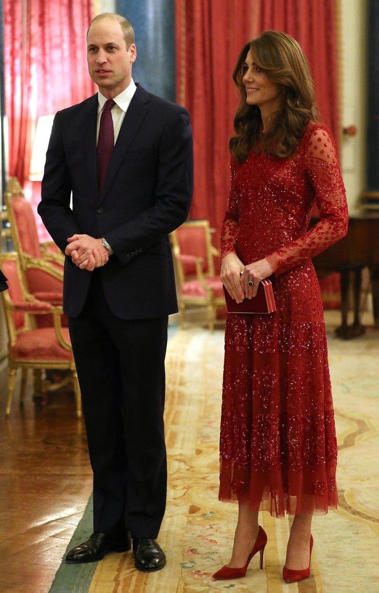 Кейт Миддлтон вплатье Neddle&Thread
