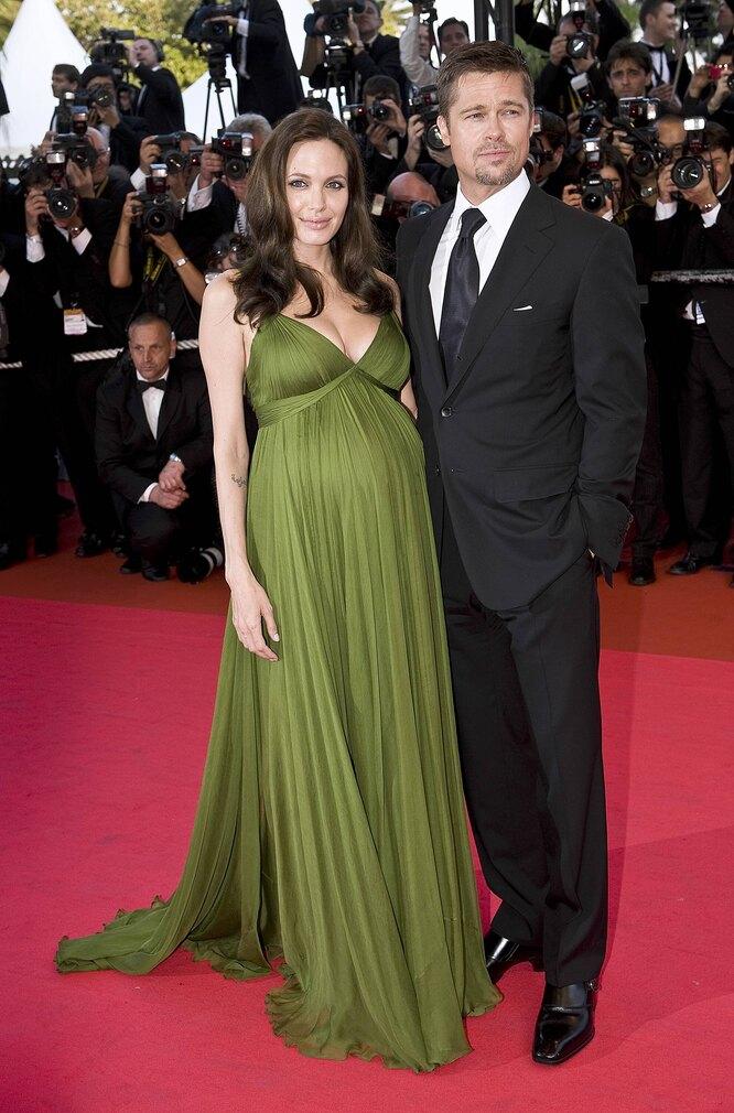 2008 г. Анджелина Джоли и Брэд Питт