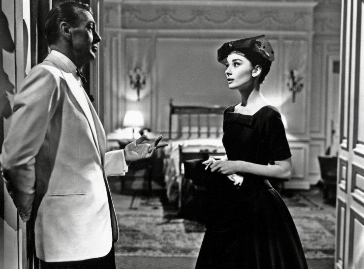 Одри Хепберн вфильме «Любовь после полудня»