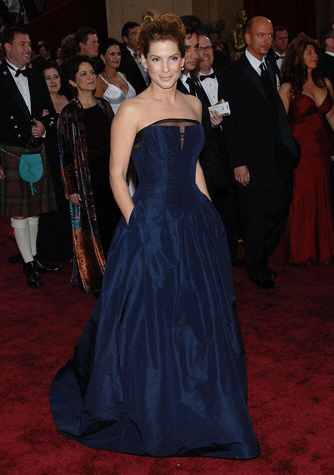 """Сандра Буллок на церемонии вручения премии """"Оскар"""" в 2006 году"""