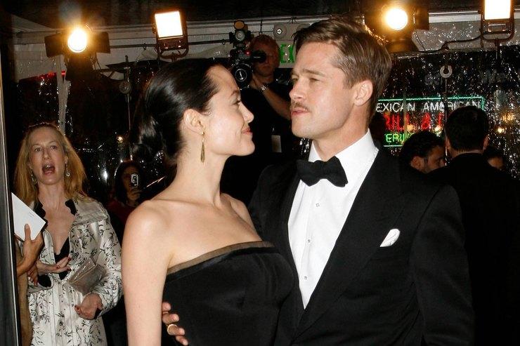 Брэд Питт иАнджелина Джоли сделали первый шаг кпримирению