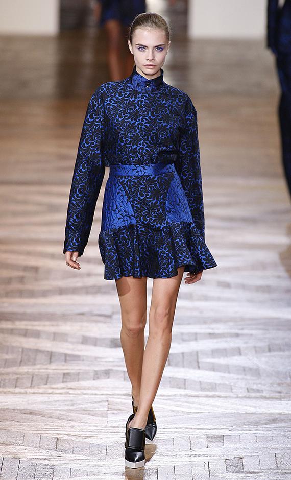 фото знаменитых моделей Кара Делевинь