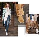 Мохнатые туфли, костюм избумаги исережки ввиде чайных пакетиков: главные детали показа Maison Margiela