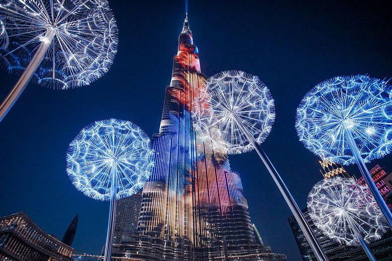 Дубай: смАРТовая площадка