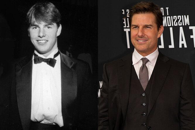 Том Круз, 1980 и сейчас