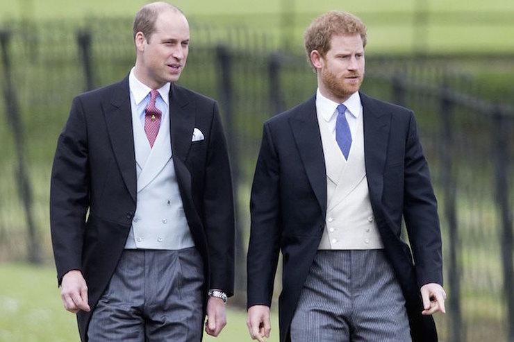 «Он оставит мой холодильник впокое!»: принц Уильям пошутил освадьбе брата