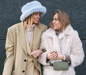 Как одеваться тепло и удобно: лучшие примеры от модниц из Скандинавии