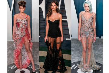 Это провал! 10 самых неудачных «голых» платьев наафтепати «Оскара»