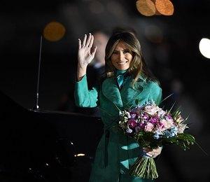 Зеленый ей к лицу: Мелания Трамп восхитила фанатов новым деловым образом