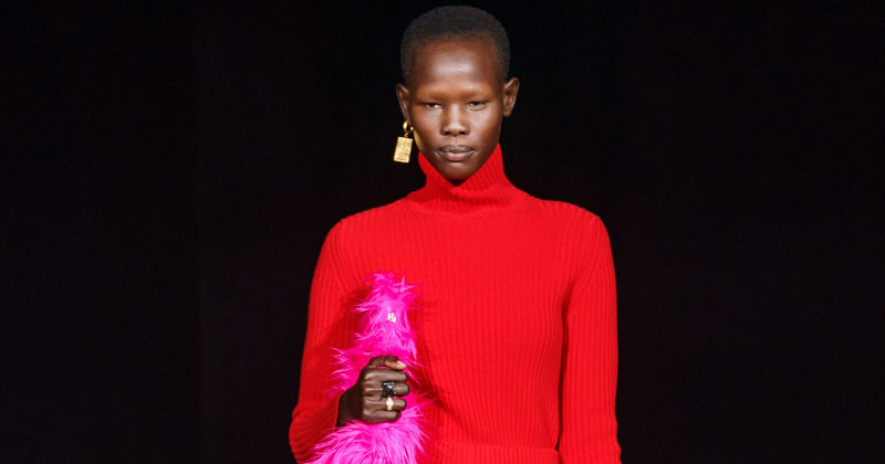 Классический tailoring вцвете: коллекция Balenciaga осень-зима 2019