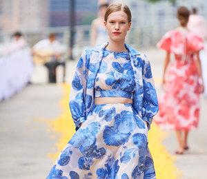 7 необычных принтов с Недели моды в Нью-Йорке для ценительниц искусства