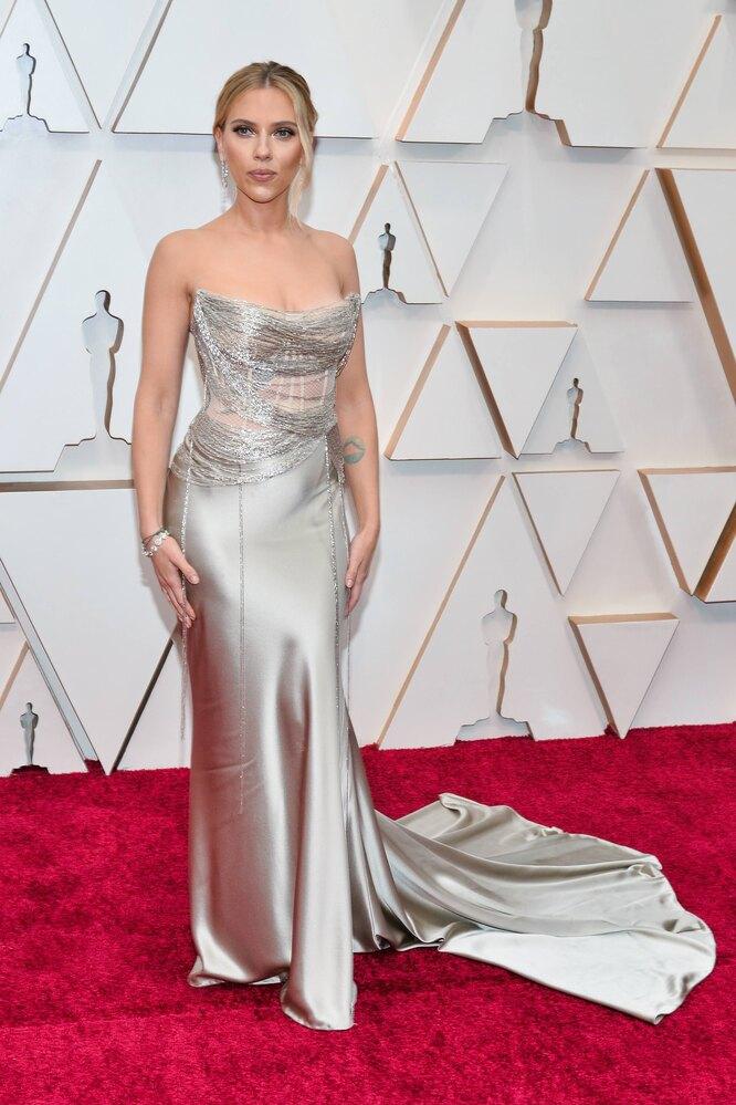 Скарлетт Йоханссон на церемонии вручения премии «Оскар», 2020