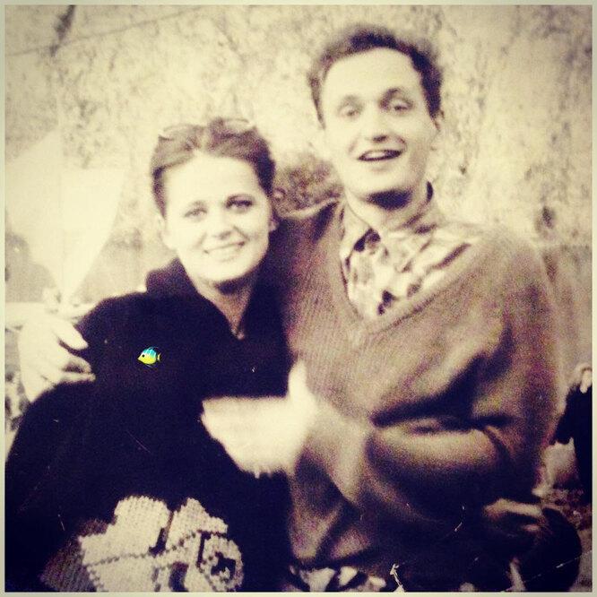 Сергей Ершов с женой в молодости