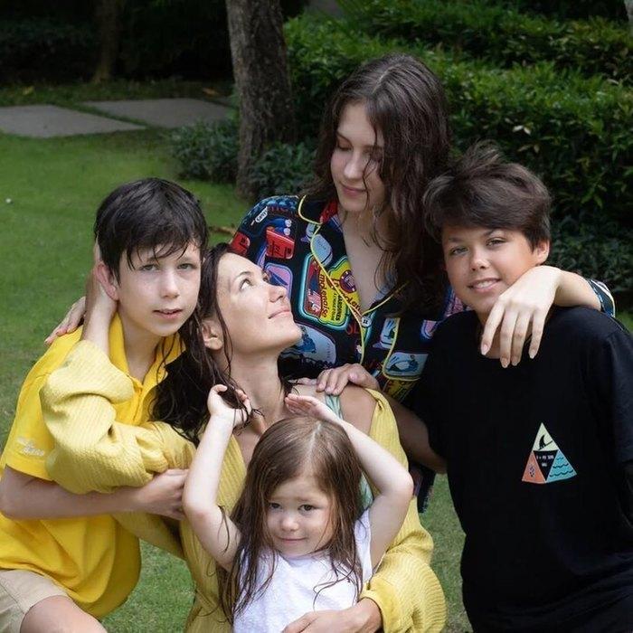 Екатерина Климова воспитывает четверых детей