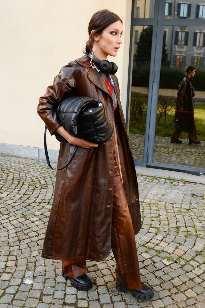 Джиджи Хадид в Милане