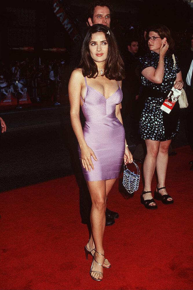 Сальма Хайек в 90-х