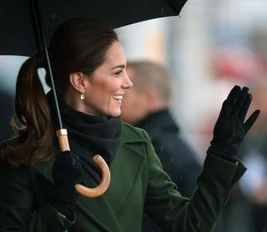 Цветное пальто навесну: уроки стиля отКейт Миддлтон