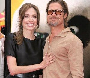 Анджелина Джоли и Брэд Питт тайно поженились?