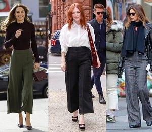 Самые модные женские брюки: какие модели выбирают Синди Кроуфорд, Кейт Миддлтон и другие звездные модницы