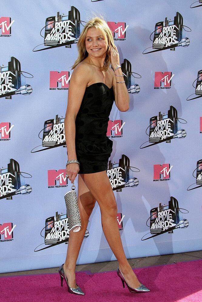 Кэмерон Диаз в 2007 году на церемонии вручения премииMTVMovie Awards