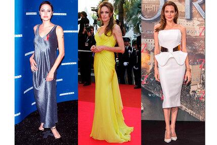Как менялись модные предпочтения Анджелины Джоли: фото