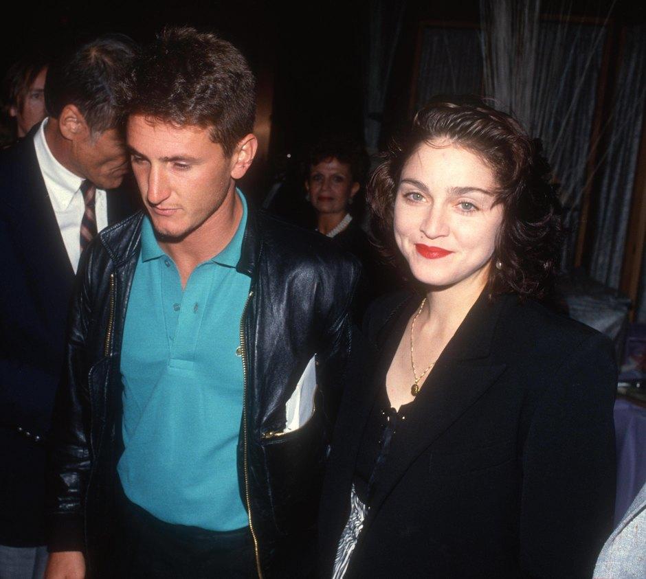Шон Пенн иМадонна 1990 год
