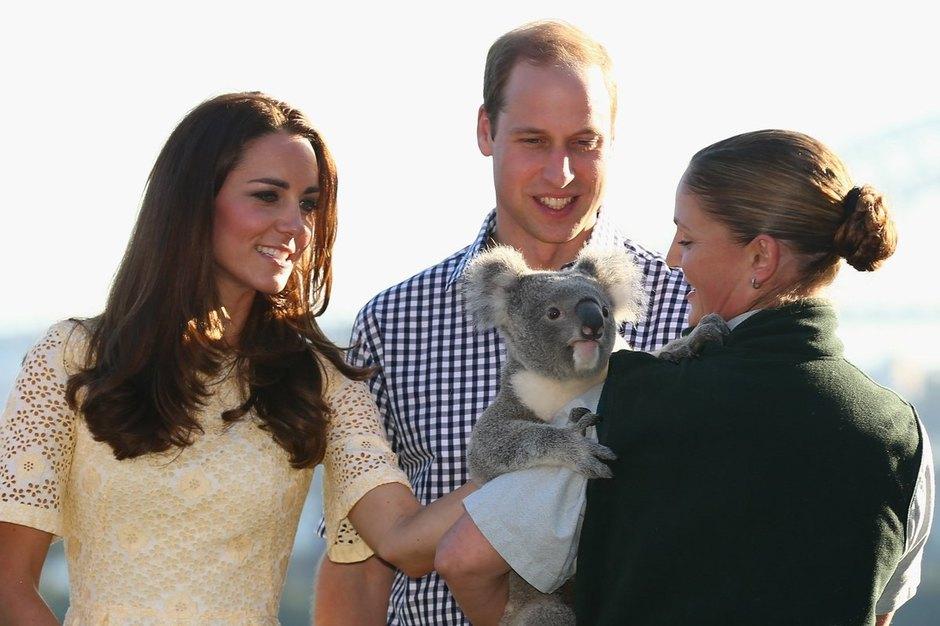 Кейт Миддлтон ипринц Уильям уже были вАвстралии в2014 году