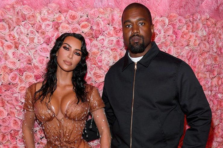 Внезапно: Канье Уэст неодобрил фееричный образ Ким Кардашьян наMet Gala
