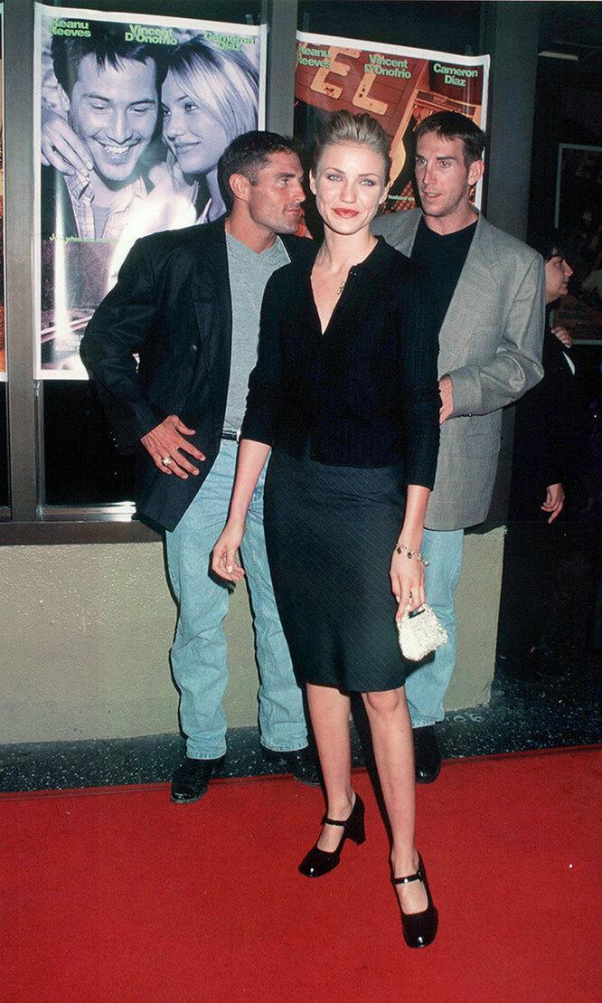 Кэмерон Диаз в 90-х