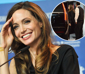 Анджелина Джоли в лодочках на каблуках сходила с сыном на шопинг