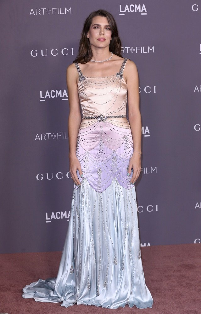 Шарлотта Казираги навечере LACMA Art Gala