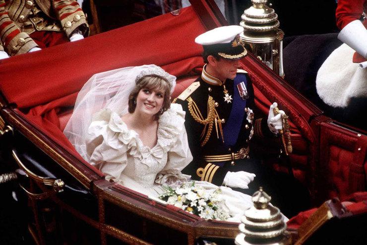 Меган Маркл, принцесса Диана, Грейс Келли: свадебные платья «народных» принцесс