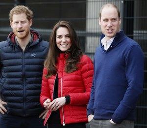 Принц Уильям, Кейт и принц Гарри организуют вечеринку в Букингемском дворце