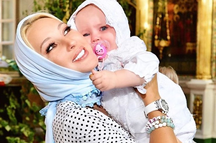Маленькая дочь Леры Кудрявцевой показала твердый характер