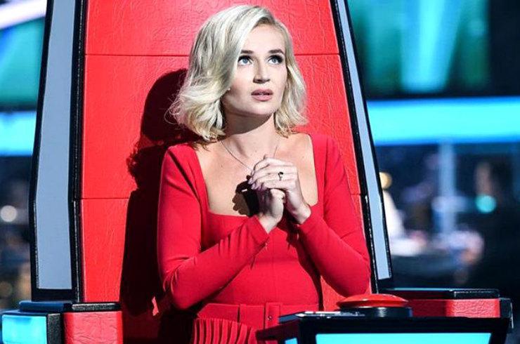 Полина Гагарина впервые стала наставником шоу