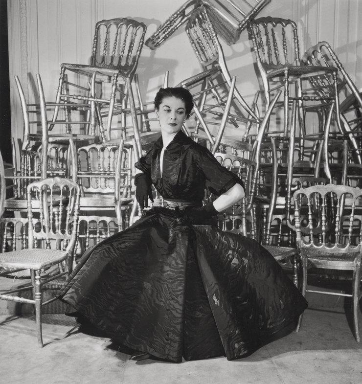 Платье изколлекции осень-зима 1948г
