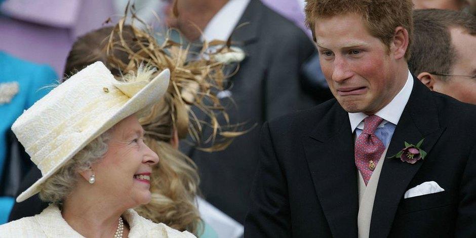 С принцем Гарри насвадьбе Чарльза иКамиллы