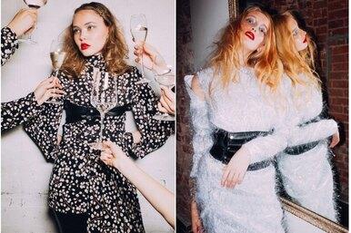 Новогодний рок-н-ролл: 12 блестящих праздничных образов Yana Besfamilnaya