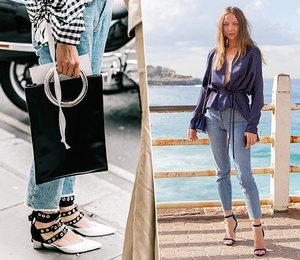 5 способов носить джинсы ивыглядеть нарядно