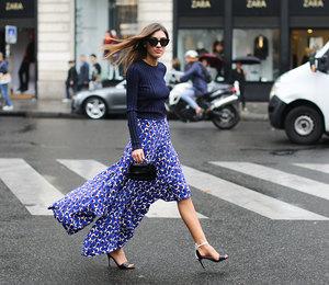 Выбираем юбку с асимметричным шлейфом вместо скучного плиссе