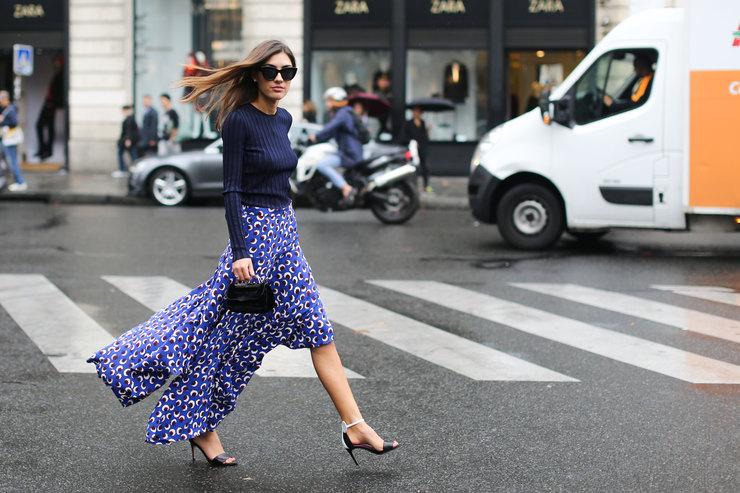 Выбираем юбку сасимметричным шлейфом вместо скучного плиссе