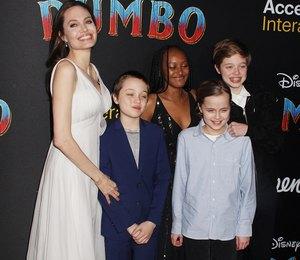Анджелина Джоли дает детям полную свободу