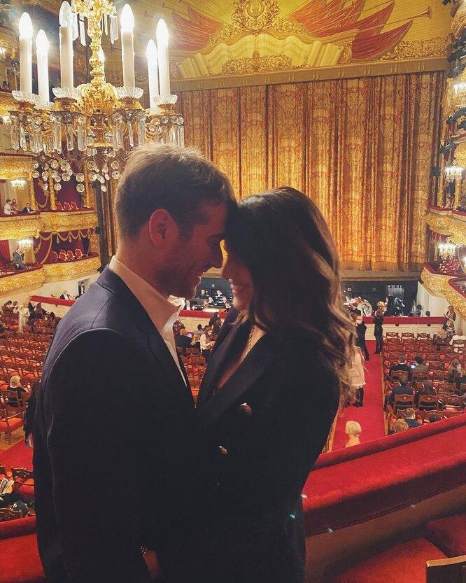Женя Малахова и Андрей Тарасов